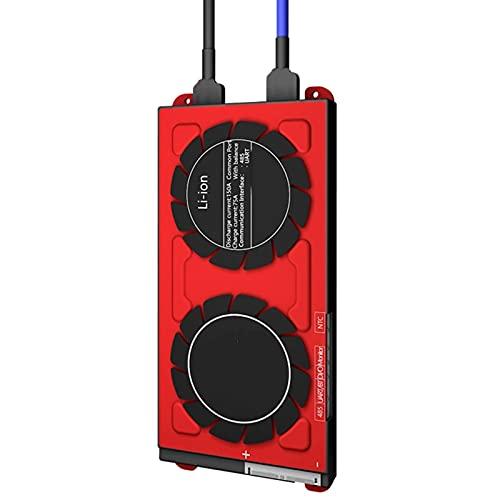 BMS 4S 10S 13S 150A 120A 200A 250A Lifepo4 Placa De Protección De Batería PCB Con Módulo Bluetooth, UART, Pantalla De Control Táctil (Color : 8s)