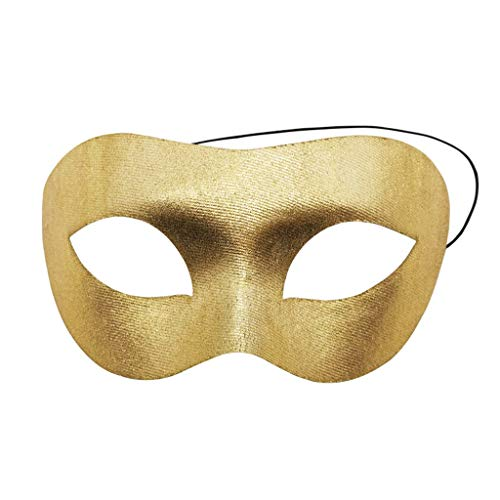 BEECM Mask Anonymous Unisex Nostalgic and Mysterious Halloween Masquerade Half Face Mask Party Costume Ball for Adults/Kids