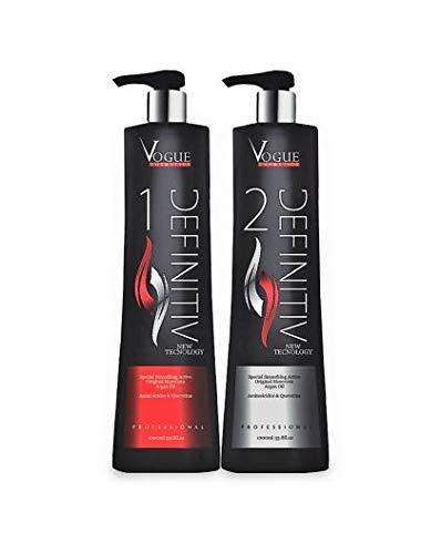 Kit lissage brésilien Gloss Definitiv Vogue 2 x 1 L