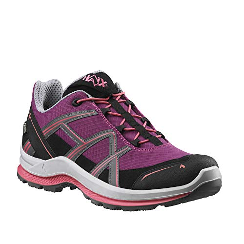 Haix Black Eagle Adventure 2.1 GTX Ws Low/Purple-Rose Funktionaler Freizeitschuh mit Gore-TEX. 39