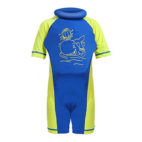 Gogokids Baby Boys Girls Float Suit Swimsuit Toddler Kids Buoyancy Swimwear 1-7 Years