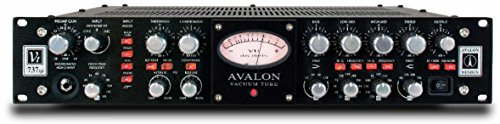 New Avalon Design | VT-700 Series Tube Mono Channel-Strip Microphone/Instrument Preamplifier, Opto-Compressor, and Sweep Equalizer : VT-737SP-B (Black)