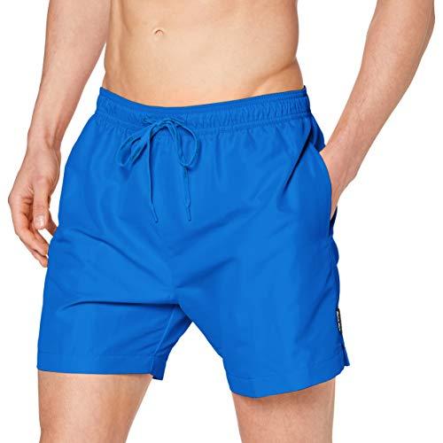 Calvin Klein Herren Medium Drawsturkeying Badehose, Electurkeyic Blue Lemonade, L