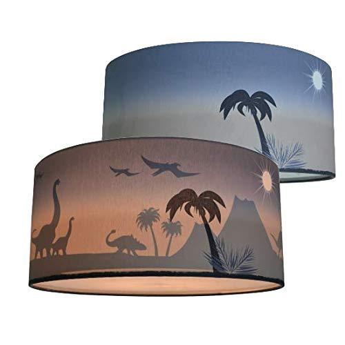 Plafondlamp Kinderkamer Dinosaurus Silhouet | Schaduwlamp Jongenskamer Land of Kids
