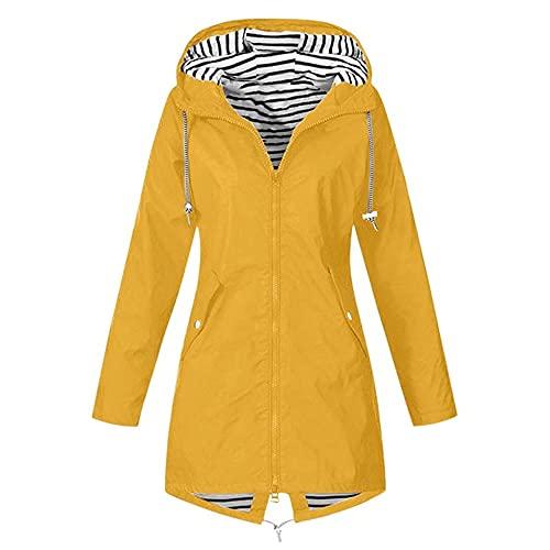 N\P Chaqueta de mujer chaqueta a prueba de agua Chaqueta de transición al aire libre Ropa de senderismo