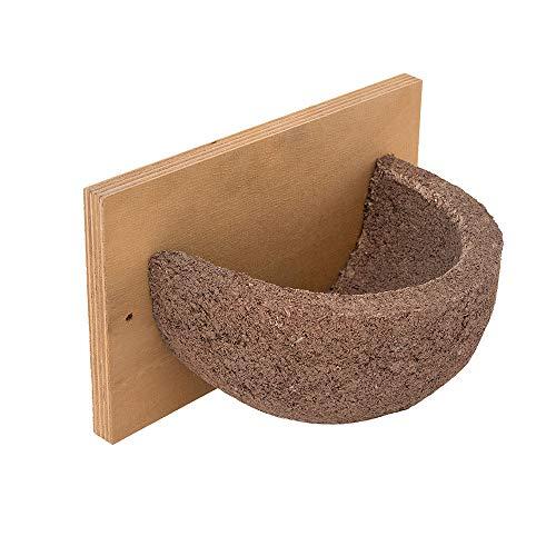 Vivara Kunstnistkasten/Nisthilfe Rauchschwalbe - Holzbeton + Holz