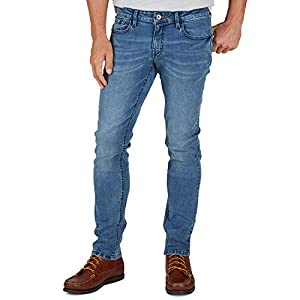 Weatherproof Vintage Men's Slim Fit Super-Soft Stretch Denim Jeans, Five Pocket