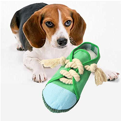 Welpenspielzeug, walenbily Kauspielzeug Schuhe Kauspielzeug Hundespielzeug für Welpe Kleine Hunde Zufällige Farbe