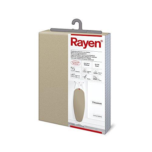 Rayen(レイエン) アイロンボードカバー チタニウム グレー 127×51�p