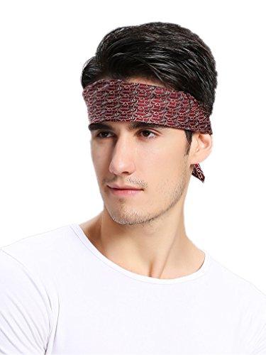 Prettystern Zijden bandana-halsdoek voor heren