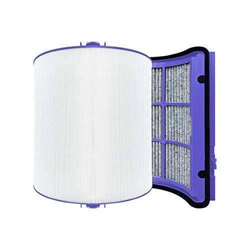 REYEE Pure Cool Luftreiniger, Glas, HEPA-Filter, Aktivkohlefilter für Dyson HP06 TP06 PH02