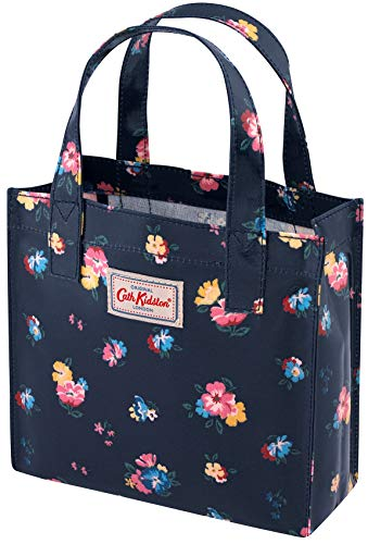 Cath Kidston Park Meadow Bunch Small Bookbag In Navy 2021
