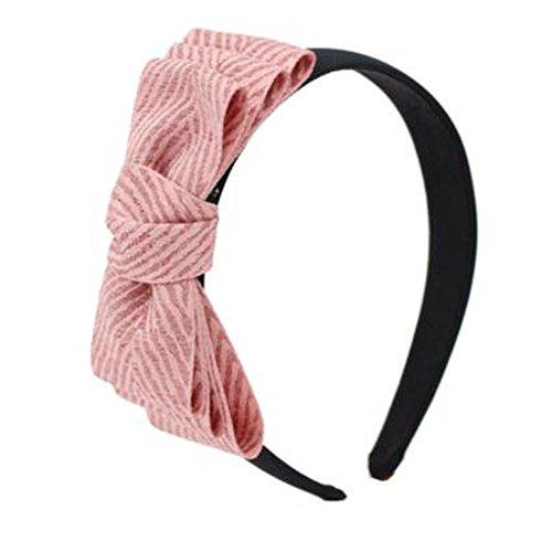 M?dchen stilvolles Bogen hairband Stirnband Haarbandzus?tze Friseur, E