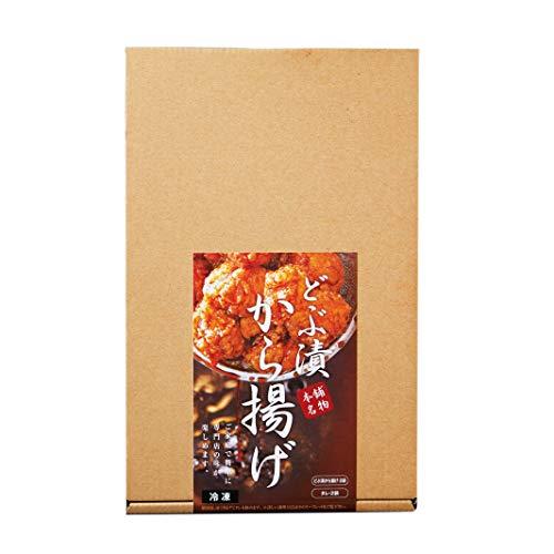 みつせ鶏本舗 みつせ鶏 どぶ漬けから揚げ 鶏かた肉12個(320g)×2箱、たれ70g×2袋