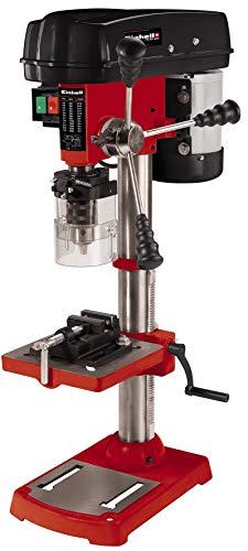 Einhell Taladro de columna TC-BD 630 (630 W, 2.450 min-1, profund. perforación máx. 60 mm, portabrocas 1,5-16 mm, tope profund. ajustable, mesa perforación inclinable/rotativa incl. mordaza)
