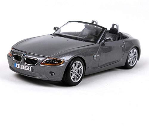 Modello Di Auto Per Adulti 1:24 Z4 Modello Di Pressofusione Grigia Modello Di Auto In Lega Modello Di Auto Simulazione Collezione Di Decorazioni Per Auto Regalo GiocattoloAuto DiFamaMondiale