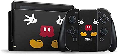 Skinit Decal Gaming Skin Compatible with Nintendo Switch Bundle - Officially Licensed Disney Mickey Mouse Body Design