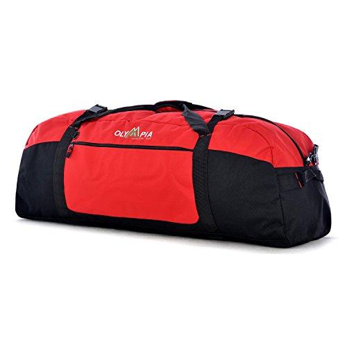 Olympia Sports Duffel Bag, Red, 30 Inch