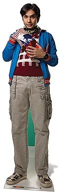 Star cutouts - Stsc622 - Figurine Géante - Raj Koothrappal - The Big Bang Theory