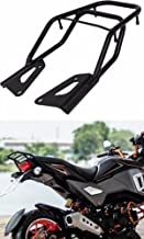 Rack Seat H2C For Honda Grom 2016-2018 Cushion Rear Ride On Pillion Adjunct Weight Luggage Cargo Rack Honda Grom MSX125SF