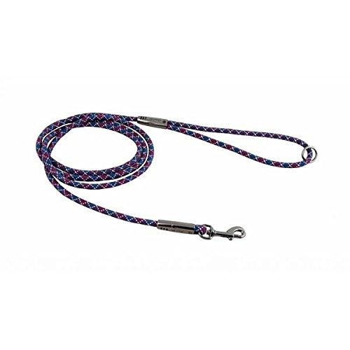 Hurtta Casual Leine in trendigen Farben, Größe::180cm x 6mm, Farbe::weinrot-blau