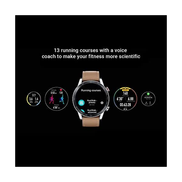 Honor Magic Watch 2 (46mm) - Smartwatch Flax Brown 3