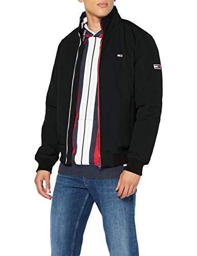 Tommy Jeans Herren Tjm Essential Padded Jacket Jacke, Schwarz (Black), S
