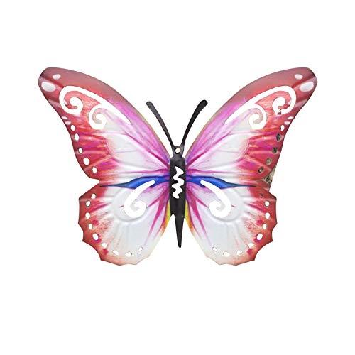 AIVUH Bienen/Schmetterling/Gecko Gartendeko Metall, Bunt Garten Dekoration, Frühling Deko, Schmetterlinge Deko, Tierfiguren Deko