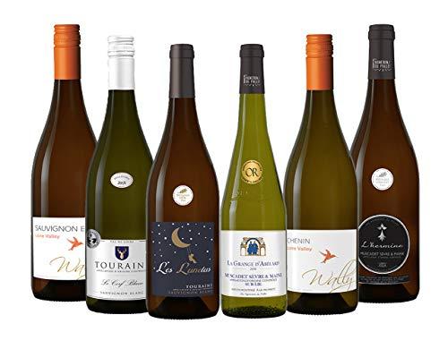ロワール地方で揃えた味わいの個性が光る辛口フランス白ワイン6本セット (750mlx6) [フランス/Amazon.co.jp限定/winery direct]