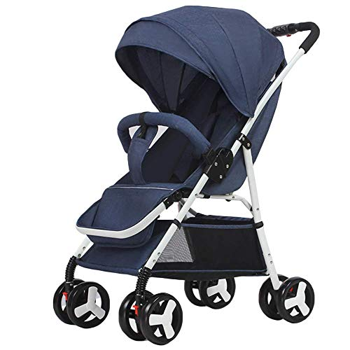 Read About PLDDY Standard Baby Stroller Can Sit and Recline Foldable, 0-3 Years Old, Ultra-Light, Ca...