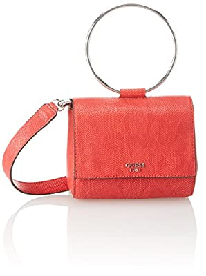 GUESS Keaton Lizard Mini Flap