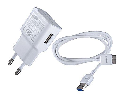 SAMSUNG EP-TA10EWE - Cargador de Viaje con Cable de Carga Micro USB 3.0, Color Blanco