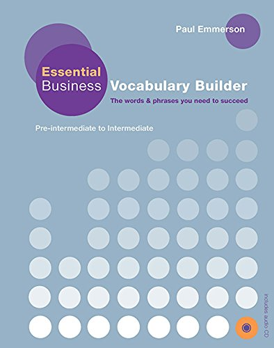 Emmerson, P: Essential Business Vocabulary Builder Students (Business Builder)