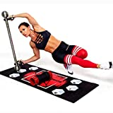 EdgeCross-X Pro-Intense Total Workout Home Gym - Complete Fitness Body Weight Training Equipment – Portable Personal Strength & Core Exercise Machine - Work Out Resistance Bands - Accessories For Gyms