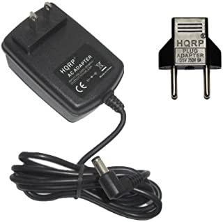 HEM-739 HEM-711AC 780N2 Blood Pressure Monitor Adaptateur Secteur Pour Moniteur de Pression Sanguine Replacement plus HQRP Euro Plug Adapter HEM-780N2 737 739 HQRP AC Adapter Power Supply for Omron HEM-737 711 HEM-711 711AC