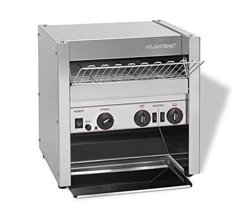 MILAN-TOAST Fast Food Profi Küchen Toaster, 3.1 W, Edelstahl