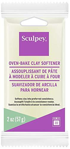 Sculpey Oven-Bake Clay Softener 2oz, White