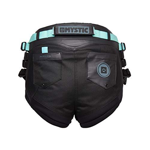 Mystic Watersports - Surf Kitesurf & Windsurfing Passion Damensitzgurt Schwarz - Haltegriff auf der Rückseite