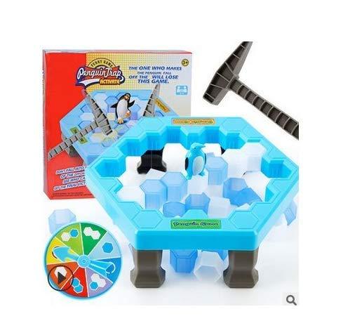 mi ji # Saving Penguin Maigre Piège # Glace Breaking Jouets Jeu Puzzle Table Jeux Penguin Trap Enregistrer Penguin Knock Ice Block Match Piège de Brise Parent-Enfant interactif Divertissement