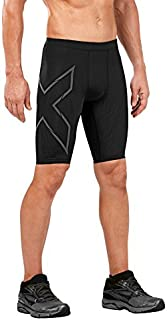 2XU Mens MCS Run Compression Short Black/Nero Reflective XS