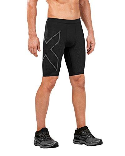 2XU Men's Mcs Compression Run Shorts, Black/Nero, Large