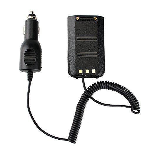 Retevis Batería Eliminator Cargador de Coche 2000mAh 12-24V Compatible con Walkie Talkie Retevis RT3 RT3S TYT MD-380 DMR Walkie Talkie Digital (1 Pc)