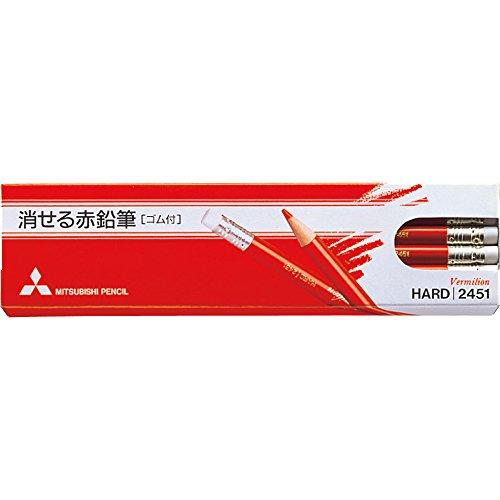 消せる赤鉛筆 K2451 1ダース