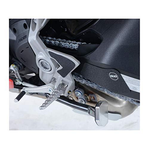 Motodak zelfklevende tape tegen wrijving R&G racing platenspeler voetensteun/arm draaibaar zwart (3 stuks) Ducati 937 Supersport