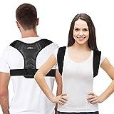 Posture Corrector for Women& Men- UpperBack Brace For Clavicle Support, Adjustable Back Straightener And Providing Correct postfrom Neck, Back & ShoulderComfortable Posture Trainer - Universal