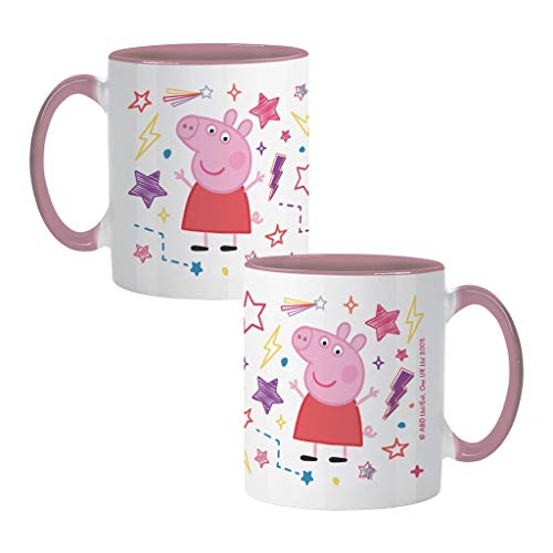Official Peppa Pig Stars Mug