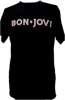 Bon Jovi T Shirt 公式 メンズ Tシャツ ブラック 黒 全サイズ