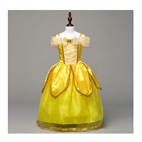 KLJJQAQ engelen meisjes prinses Belle kostuum prinses aankleden halloween partij jurken