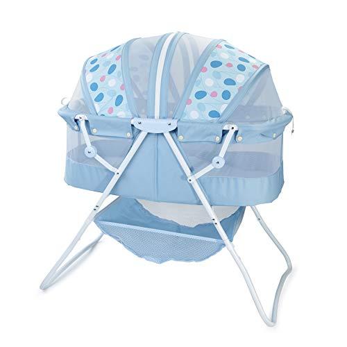 Product Image of the Big Oshi Emma Newborn Baby Bassinet - Portable Bassinet for Boys or Girls -...