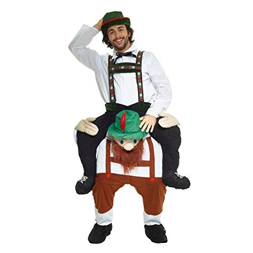Morph MCPBBM - Lederhosen Huckepack Kostüm - Uni Größe